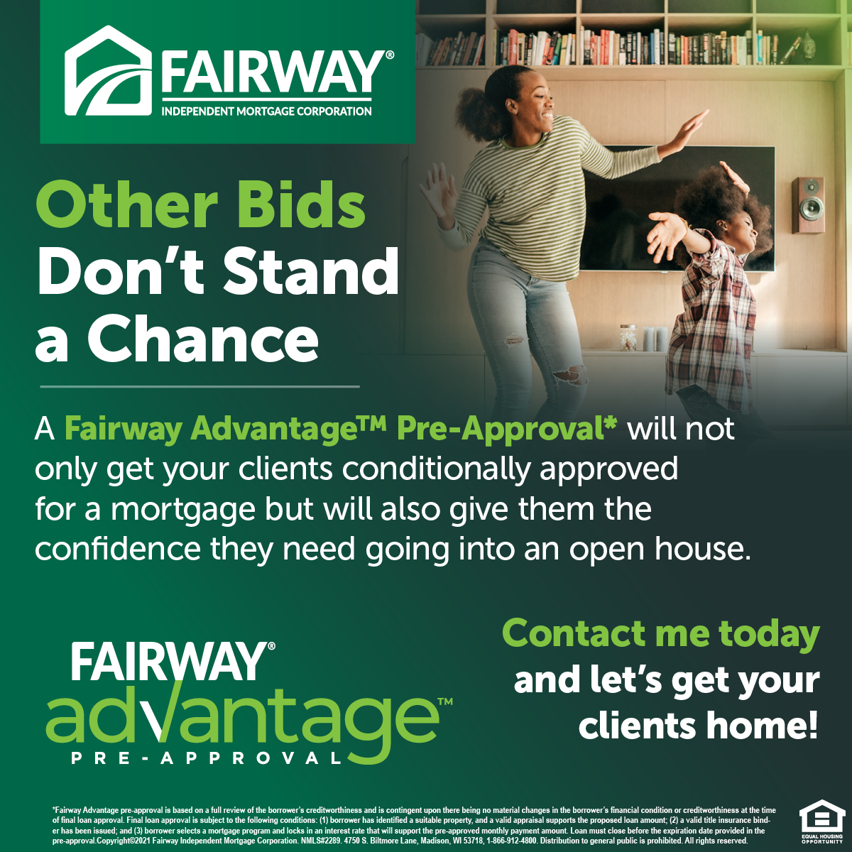 Fairway Mortgage Pre-Approval